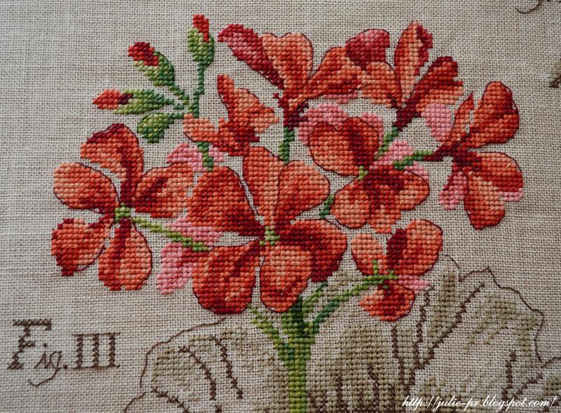 Ботаника вышивка крестом veronique