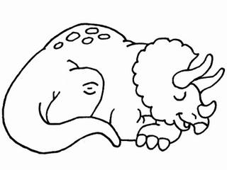 Desenhos Para Colorir Dinossauros