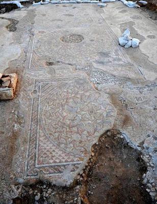Byzantine mosaic floor