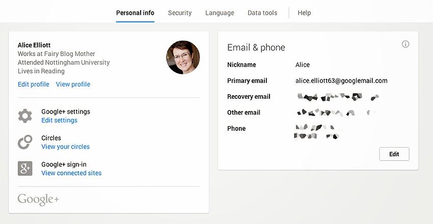 Revolusi Ilmiah - Personal info pada Google