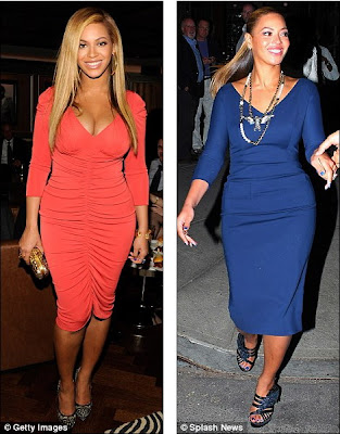 Beyonce On Baby Weight Loss