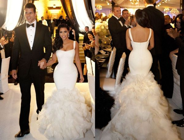 Estilo Moda Wedding Bl... Kim Kardashian Wedding