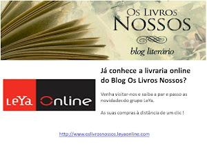 A Livraria Online do Blog [apoio Grupo LeYa]