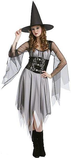 Disfraz de bruja gótica para Halloween