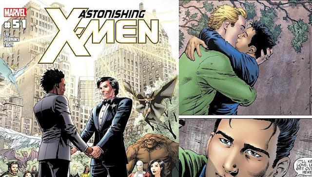 casamento gay nos quadrinhos