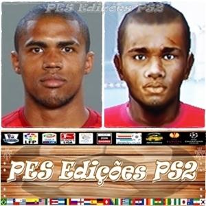 Douglas Costa (Bayern München) e Brasil PES PS2