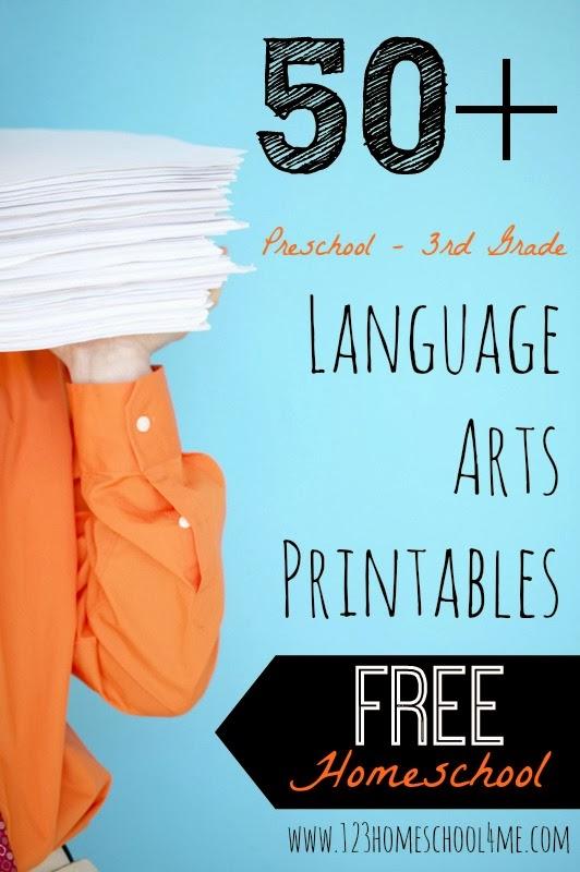123 Homeschool 4 Me Grammar 100 free printable games and – Free Ela Worksheets
