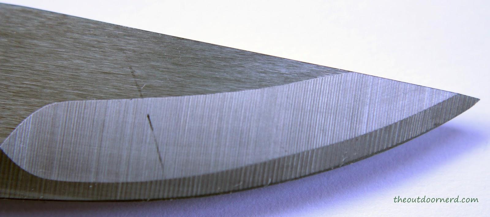 Light My Fire Swedish FireKnife: Closeup Of Blade Tip