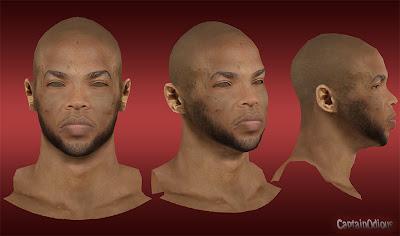 NBA 2K13 Taj Gibson Cyberface Mod