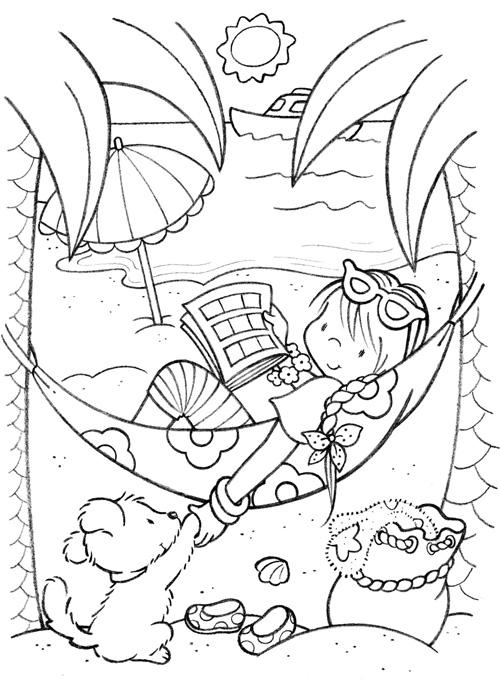 Gincagua - Gina Carol - Ilustracion Collage: Páginas Color