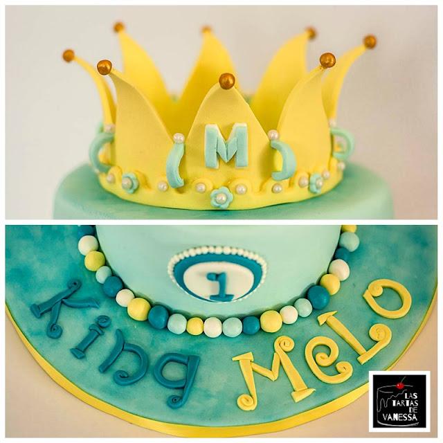 tarta fondant príncipe azul