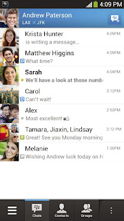 BBM v1.0.0.70 (BlackBerry Messenger For Android)
