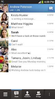 BBM v1.0.0.70 (BlackBerry Messenger For Android)