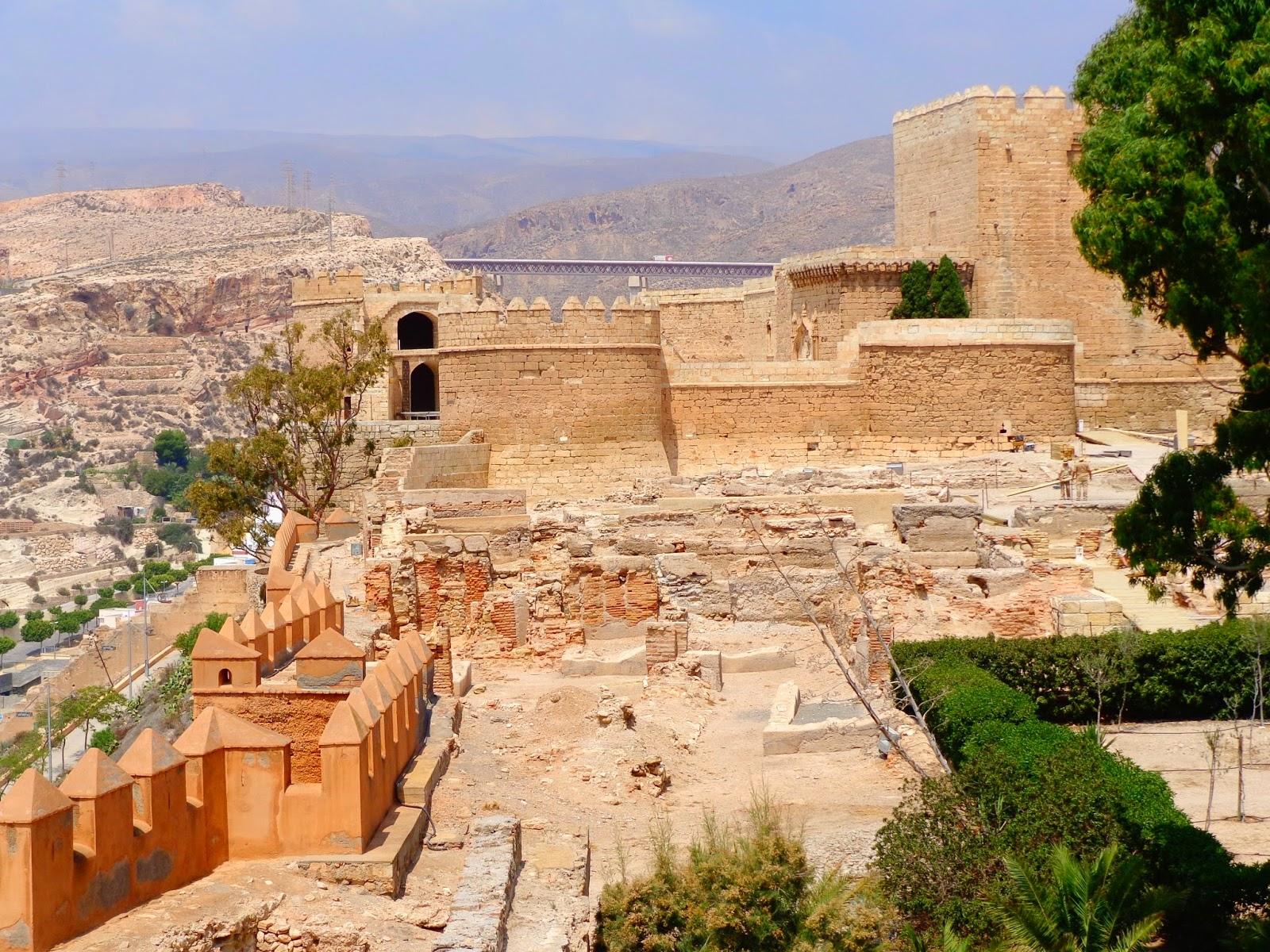 Alcazaba de almer a for Inmobiliarias de almeria