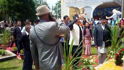 Bimal Gurung in saheed diwas darjeeling