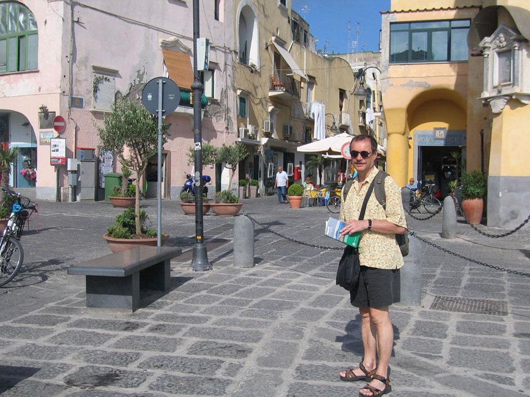 Venerdì, 9 giugno 2017: a Procida (Napoli).