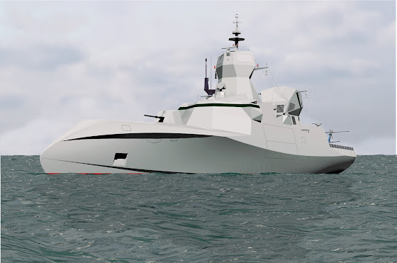 C Sword 90 stealthy corvette