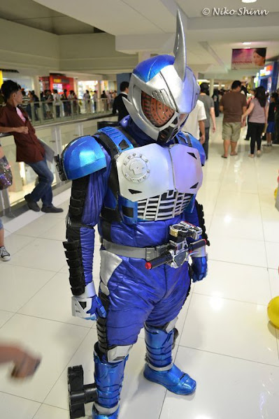 Kamen Rider Accel Trial Cosplay