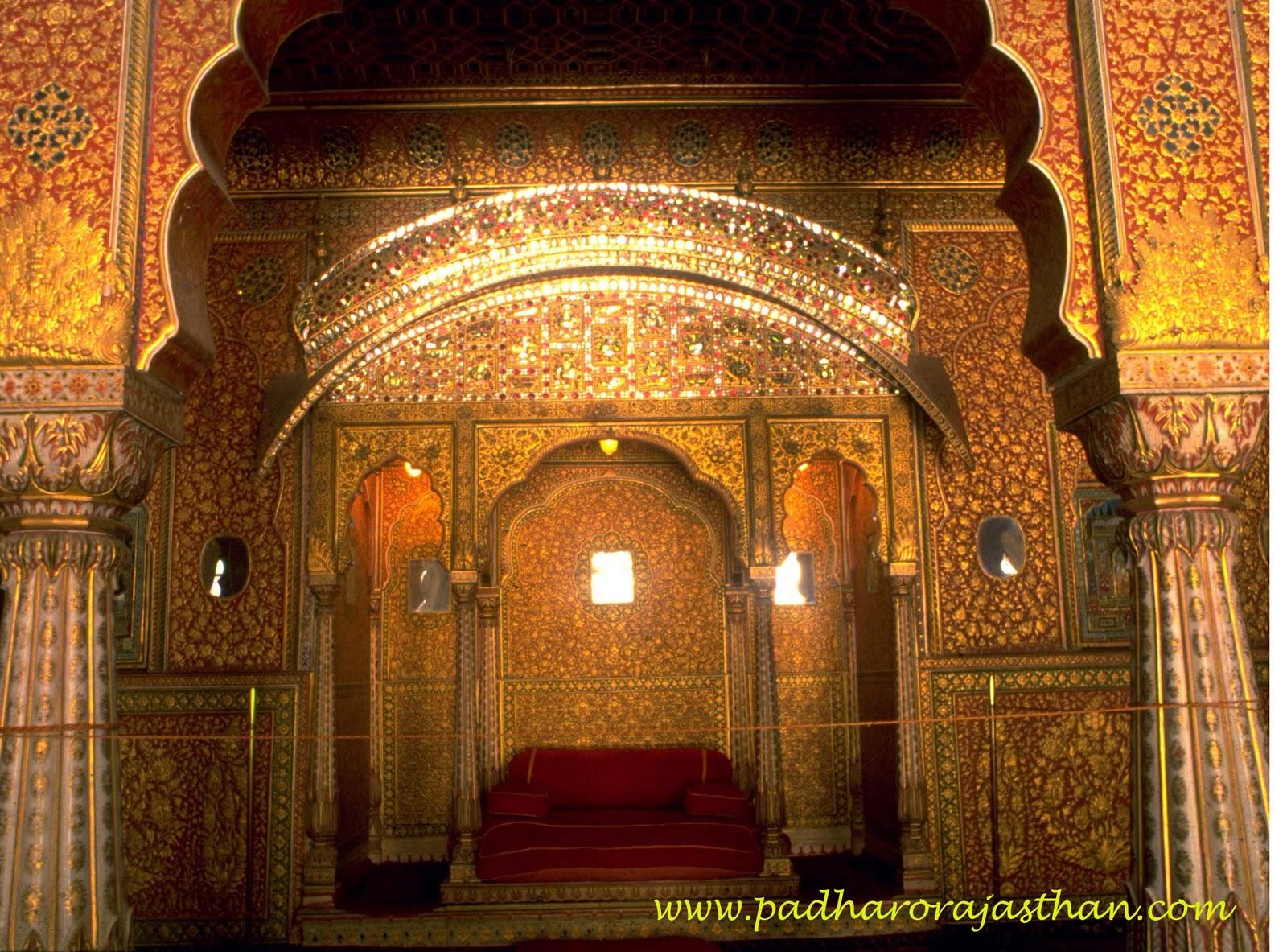 Padharo Rajasthan Interior At Junagarh Palace Bikaner
