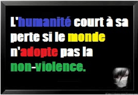 Citation sur la violence en image