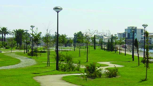 Base paisajismo proyecto de zona verde p blica trazado for Trazado sinuoso