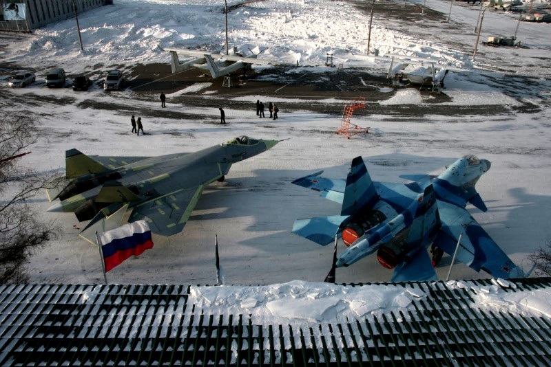 Sukhoi Pak Fa T 50 Jet Fighter Wallpapers