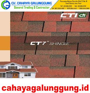 Atap Cti Ct7 Shingles Bitumen