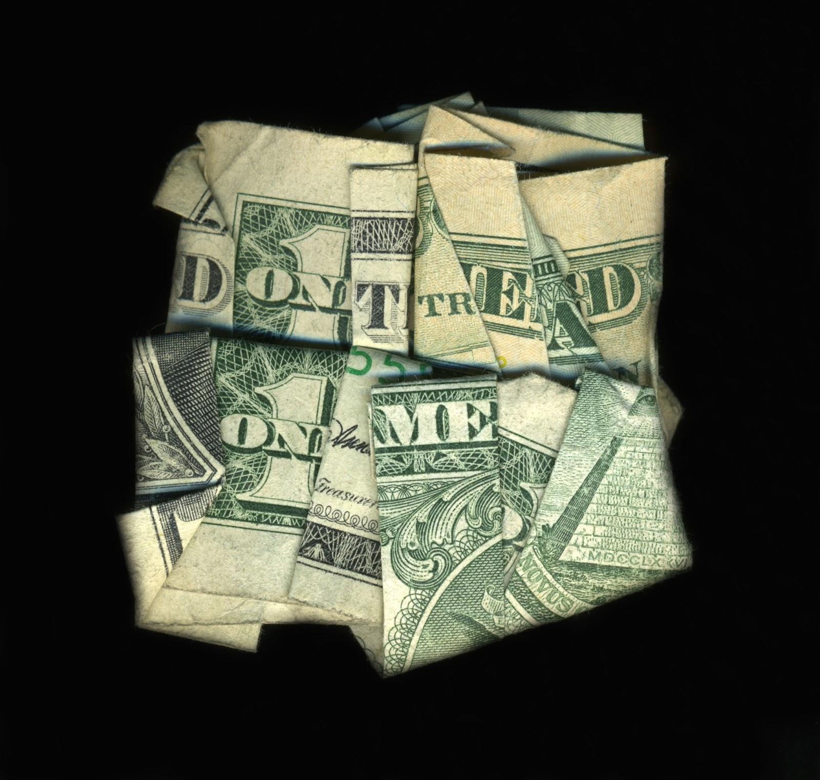 Как свернуть один доллар в треугольник схема