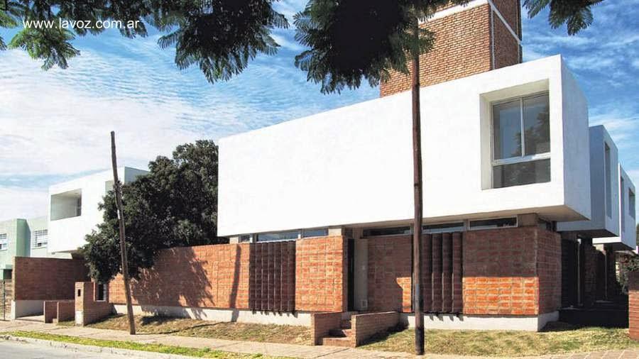 Terminaciones de fachadas en ladrillo visto