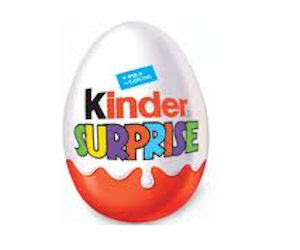 Free Kinder Surprise Eggs