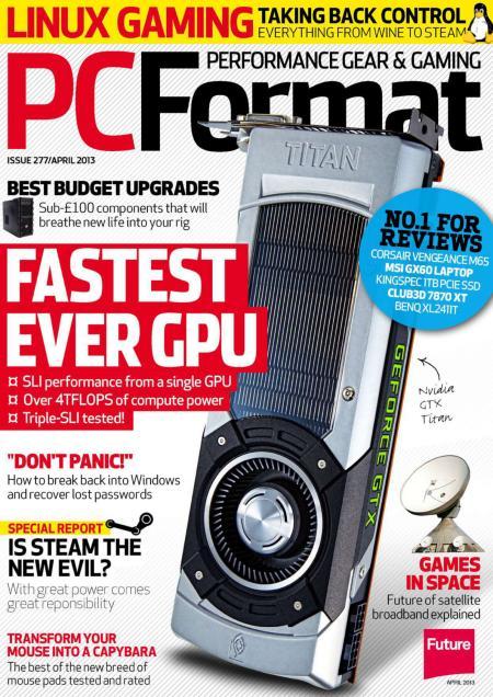 FREE DOWNLOAD PC FORMAT MAGAZINE APRIL 2013 UK