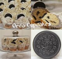 Oreo cupcakes med oreo frosting