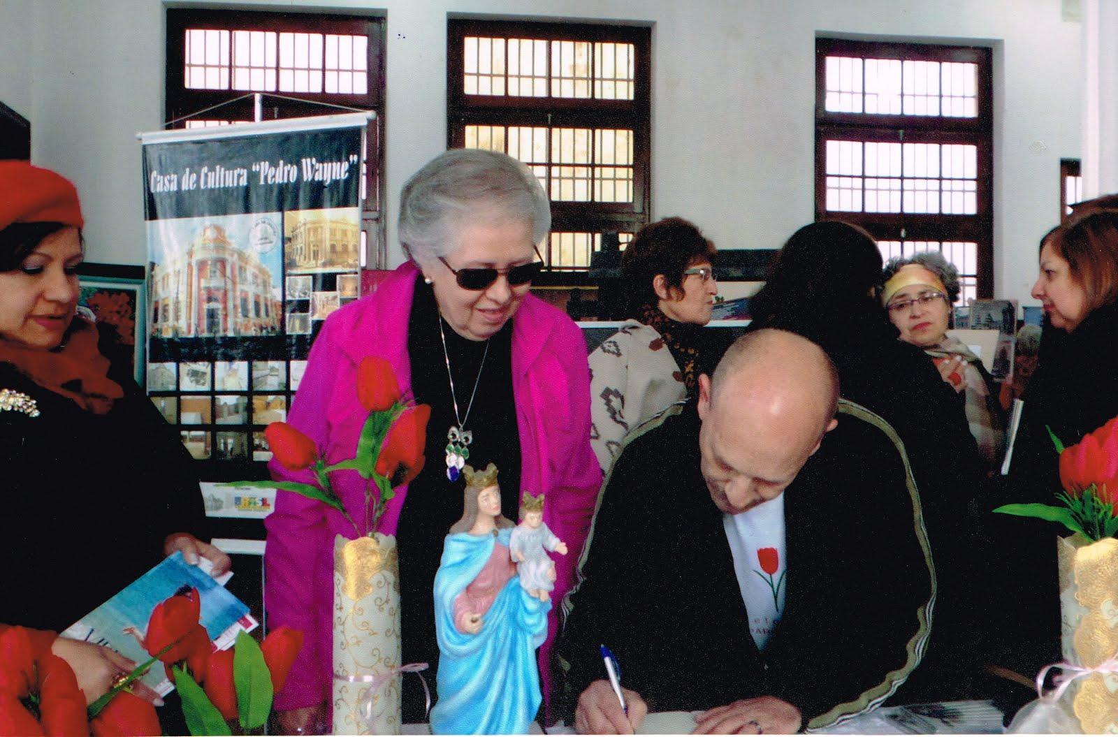 Manoel Ianzer e Sonia Alcalde