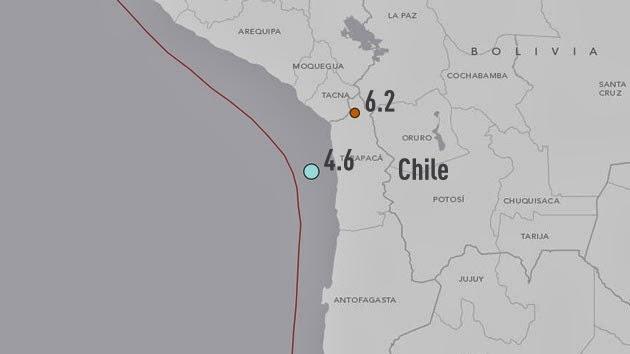 TERREMOTO DE 6,2 GRADOS EN CHILE, 22 DE MARZO 2014