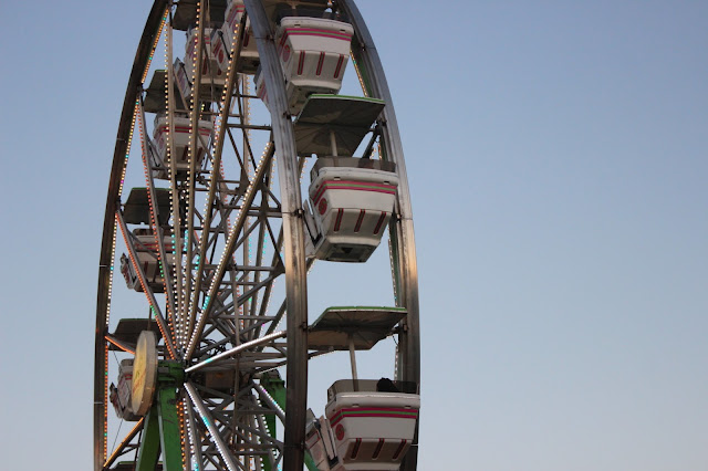 usa, united states of america, california, woodland, fair, ferris wheel