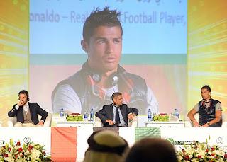 Cristiano y Del Piero fueron premiados en Dubái