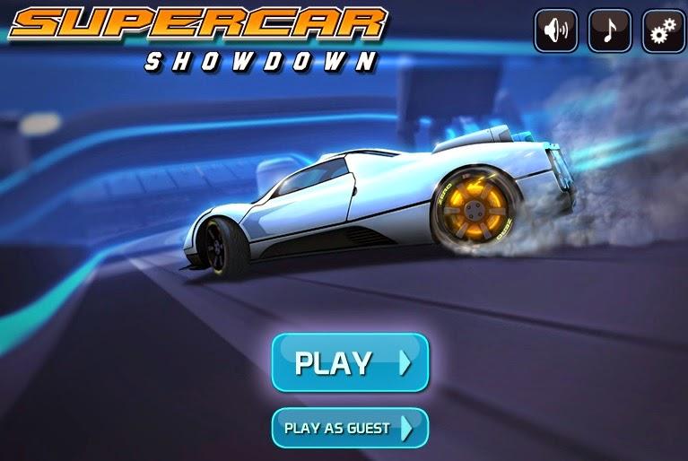 Juegos de carros gratis - Supercar Showdown