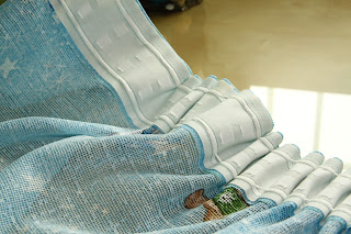 como hacer cortinas cintas