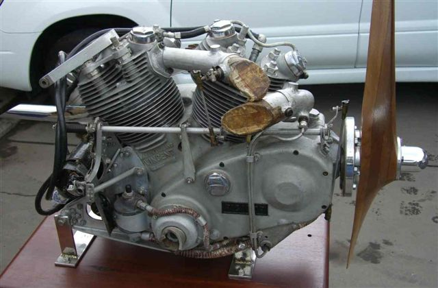 HRD Vincent Picador Drone Aircraft Engine
