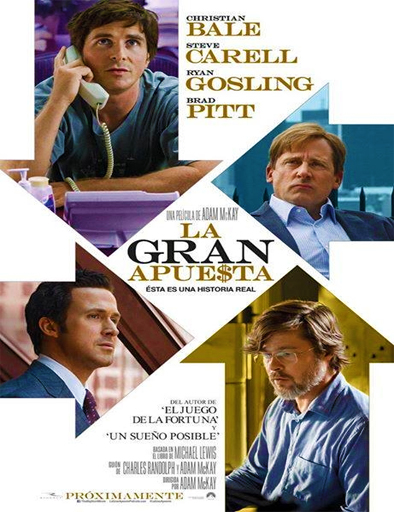 Ver La gran apuesta (The Big Short) (2015) Online
