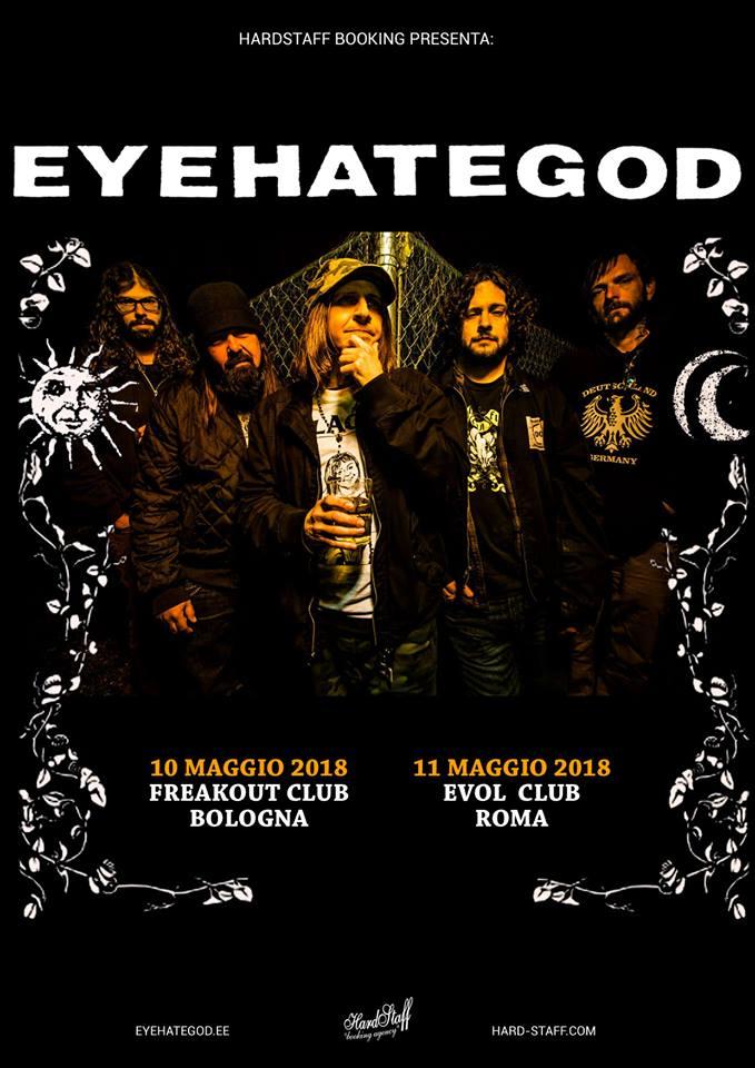 EyeHateGod - Bologna 10.05.2018