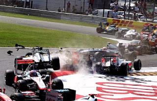Cuantas fuerzas g soporta el piloto formula 1