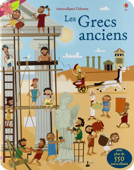 Les Grecs anciens - éditions Usborne