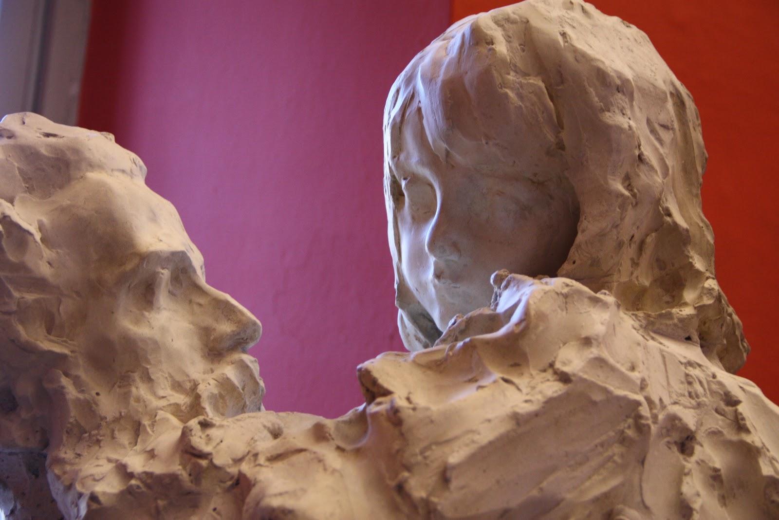 Paolo Troubetzkoy Padre e figlia  detail Museo del Paesaggio Verbania