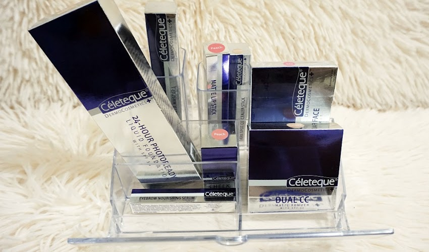 Enjoy the Benefits of Makeup and Skincare in one with NEW Céleteque DermoCosmetics