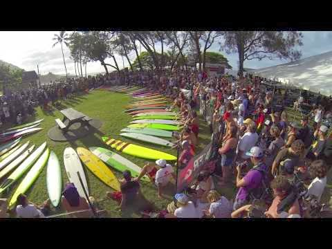 Eddie Aikau Opening Ceremony 2014 - Big Wave Surfing