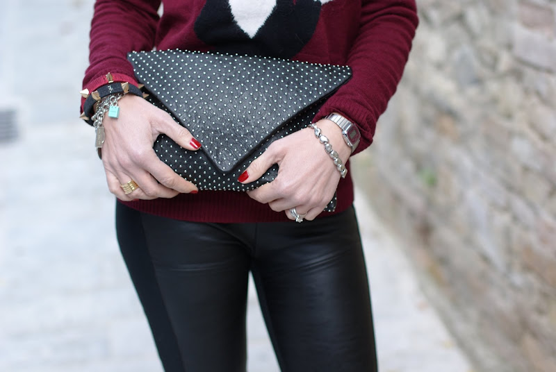 Zara envelope clutch, Fashion and Cookies