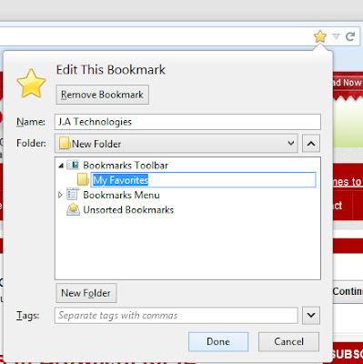 Saving and Bookmarking a Website URL