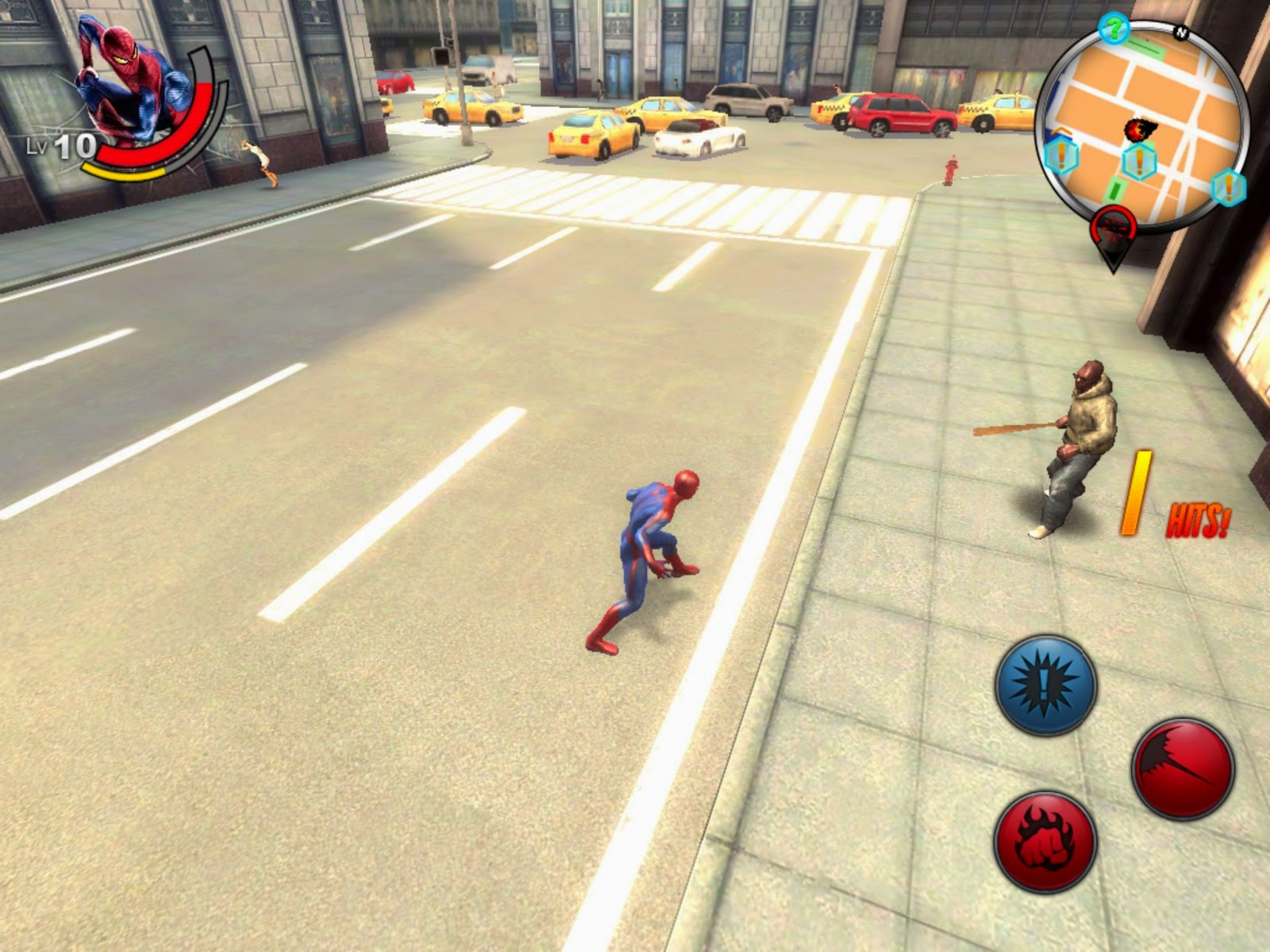Download Apk Game The Amazing Spiderman , Beraksi Menjadi Spiderman!