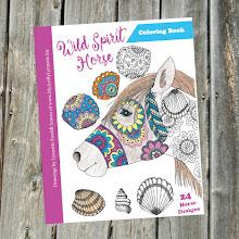 Wild Spirit Horse Coloring Book